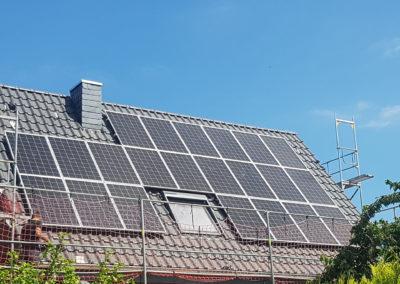 Solaranlage-Dachpanele